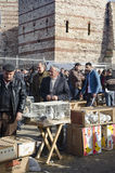 Υπαίθρια αγορά πουλιών στη Ιστανμπούλ Στοκ φωτογραφία με δικαίωμα ελεύθερης χρήσης