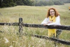 υπαίθρια ανώτερη γυναίκα στοκ φωτογραφία με δικαίωμα ελεύθερης χρήσης