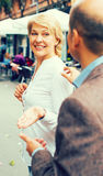 υπαίθρια γυναίκα πορτρέτ&omicr Στοκ φωτογραφίες με δικαίωμα ελεύθερης χρήσης
