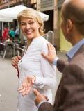 υπαίθρια γυναίκα πορτρέτ&omicr Στοκ Εικόνα