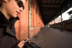 υπαίθρια γυναίκα Στοκ Φωτογραφίες