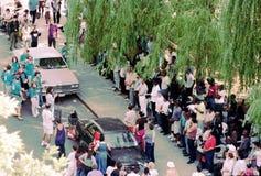 Υπαίθρια εκκλησία - Νέα Υόρκη 1995 Στοκ φωτογραφία με δικαίωμα ελεύθερης χρήσης