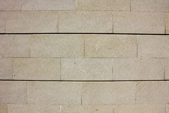 Υπαίθρια ελαφριά μεγάλα τούβλα τοίχων Στοκ Φωτογραφίες