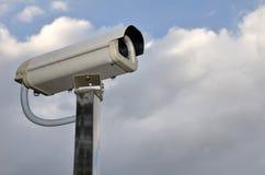 Υπαίθρια κάμερα CCTV ασφάλειας Στοκ Εικόνα