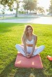 Υπαίθρια κατάρτιση και workout στοκ εικόνα με δικαίωμα ελεύθερης χρήσης