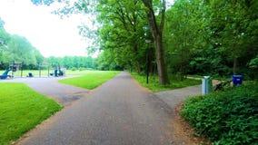 Υπαίθρια καταπληκτική φύση γύρου πάρκων φιλμ μικρού μήκους