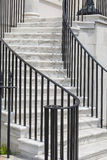 Υπαίθρια μαρμάρινη σκάλα Στοκ εικόνες με δικαίωμα ελεύθερης χρήσης
