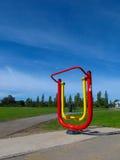 Υπαίθρια μηχανή άσκησης Στοκ Φωτογραφία