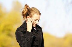 υπαίθρια νεολαίες γυναικών Στοκ Εικόνες