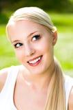 υπαίθρια νεολαίες γυναικών Στοκ Φωτογραφίες