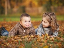Υπαίθρια παιδιά Στοκ Εικόνες