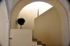 Σκάλα Fira Στοκ εικόνες με δικαίωμα ελεύθερης χρήσης
