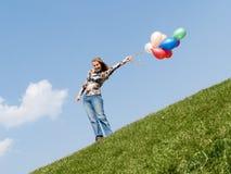 υπαίθρια χαμογελώντας μό&nu στοκ εικόνες με δικαίωμα ελεύθερης χρήσης