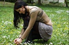 υπαίθρια όμορφος έφηβος Στοκ φωτογραφία με δικαίωμα ελεύθερης χρήσης