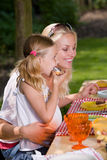 υπαίθρια picnic στοκ φωτογραφία με δικαίωμα ελεύθερης χρήσης