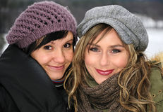 υπαίθριες preaty γυναίκες τ&omicron Στοκ φωτογραφία με δικαίωμα ελεύθερης χρήσης