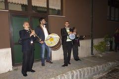 Υπαίθριοι εορτασμοί Hidirellez - μια ζώνη οδών Στοκ Εικόνες