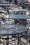 Υπαίθριοι πίνακες patio Στοκ Εικόνες