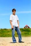 υπαίθριος έφηβος Στοκ Εικόνες