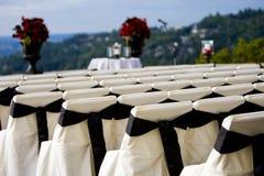 υπαίθριος γάμος Στοκ Φωτογραφία