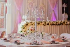 Υπαίθριος εσωτερικός γαμήλιων ντεκόρ Στοκ εικόνες με δικαίωμα ελεύθερης χρήσης