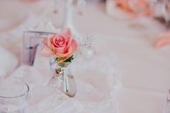 Υπαίθριος εσωτερικός γαμήλιων ντεκόρ Στοκ Εικόνες