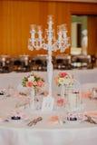 Υπαίθριος εσωτερικός γαμήλιων ντεκόρ Στοκ φωτογραφία με δικαίωμα ελεύθερης χρήσης