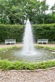 Υπαίθριος κήπος πηγών Στοκ Φωτογραφίες