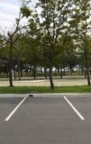 Υπαίθριος σταθμός αυτοκινήτων Στοκ φωτογραφία με δικαίωμα ελεύθερης χρήσης