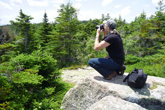 υπαίθριος φωτογράφος Στοκ φωτογραφία με δικαίωμα ελεύθερης χρήσης