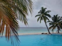 υπαίθριος pool spa χειμώνας ύδατος στοκ εικόνα με δικαίωμα ελεύθερης χρήσης