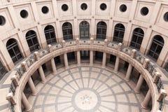 Υπαίθριος Rotunda στο κράτος Capitol του Τέξας στο Ώστιν στοκ εικόνα με δικαίωμα ελεύθερης χρήσης