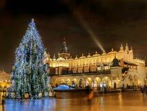 υπαίθριο δέντρο Χριστου&ga Στοκ Εικόνες
