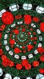 Υπαίθριο γιγαντιαίο χριστουγεννιάτικο δέντρο Στοκ εικόνες με δικαίωμα ελεύθερης χρήσης