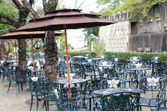 Υπαίθριο εστιατόριο Glover στον κήπο, Ναγκασάκι, Ιαπωνία Στοκ φωτογραφία με δικαίωμα ελεύθερης χρήσης