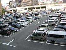Υπαίθριο δημόσιο carpark Στοκ φωτογραφία με δικαίωμα ελεύθερης χρήσης