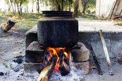 Υπαίθριο μαγείρεμα Στοκ Φωτογραφίες