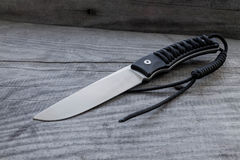 Υπαίθριο μαχαίρι Στοκ Εικόνα