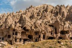 Υπαίθριο μουσείο Zelve, Cappadocia, Τουρκία στοκ εικόνες