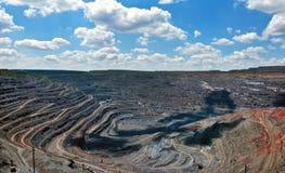 Υπαίθριο ορυχείο Στοκ Φωτογραφία
