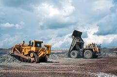 Υπαίθριο ορυχείο Στοκ φωτογραφία με δικαίωμα ελεύθερης χρήσης
