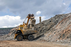 Υπαίθριο ορυχείο Στοκ Εικόνες