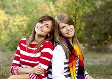 υπαίθριο πορτρέτο κοριτ&sig Στοκ Φωτογραφία
