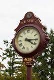 Υπαίθριο ρολόι Στοκ φωτογραφία με δικαίωμα ελεύθερης χρήσης