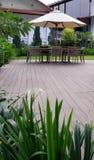 υπαίθριο patio εξωραϊσμού Στοκ φωτογραφία με δικαίωμα ελεύθερης χρήσης