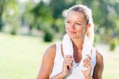 υπαίθριο workout Στοκ φωτογραφία με δικαίωμα ελεύθερης χρήσης
