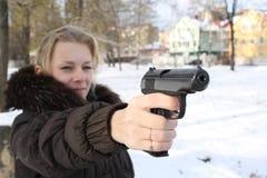 υπεράσπιση μόνη Στοκ φωτογραφίες με δικαίωμα ελεύθερης χρήσης