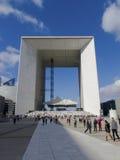 Υπεράσπιση Grande Arche 8191, Παρίσι, Γαλλία, 2012 Λα Στοκ Φωτογραφία