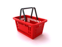 υπεραγορά αγορών πελατών Στοκ Εικόνα