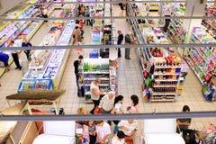 υπεραγορά Στοκ φωτογραφία με δικαίωμα ελεύθερης χρήσης